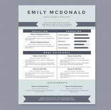 sea blue resume template package  resume templates on creative marketsea blue resume template
