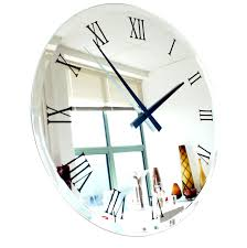 trendy oversized wall clock modern  extra large modern wall
