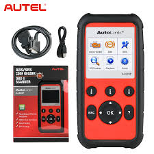 <b>Autel AutoLink AL609P</b> OBD2 Code Reader ABS Airbag Scan Tool