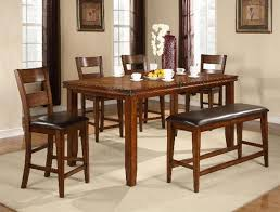 cherry counter height piece: figaro  piece counter height dining set in cherry finish by crown mark
