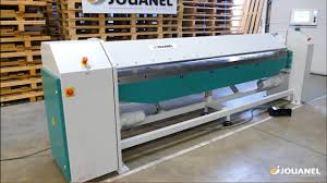 Electric <b>universal folding</b> machines PTL3050-10 with numerical ...