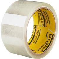 <b>Клейкая лента</b> упаковочная <b>Universal</b> прозрачная 50 мм x 45 м ...