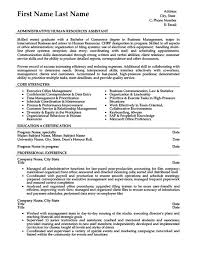 administrative assistant resume resume templates for administrative assistants
