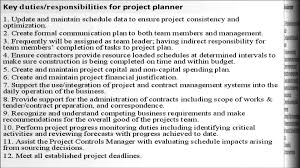 project planner job description project coordinator resume cover cover letter project planner job description project coordinator resumeplanner scheduler job description