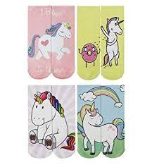 Danial Unisex Funny Crazy <b>3D Cartoon</b> Animals <b>Unicorn Pattern</b> ...