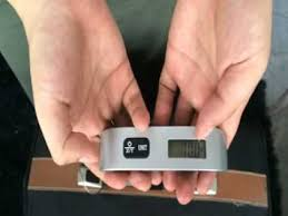 Camry <b>110lb Luggage Scale</b> Video Review - YouTube