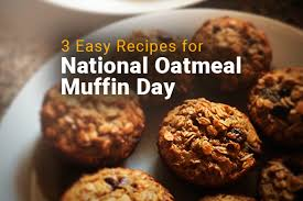 3 Recipes for Mesothelioma Patients on National Oatmeal Muffin Day