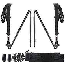 XinZHiYuAy Collapsible Trekking Pole <b>Adjustable Lightweight</b> ...