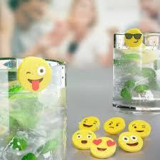 Купить «<b>Маркеры для бокалов Emoji</b> (8 шт)» () по цене 420 руб. в ...