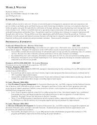 general resume summary examples template general resume summary examples