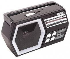 <b>Радиоприёмник Сигнал Electronics</b> РП-227 black переносной; FM ...