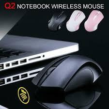 <b>Q2</b> 2.4GHz <b>1600DPI</b> Small Wireless Optical Gaming <b>Mouse Mice</b> ...