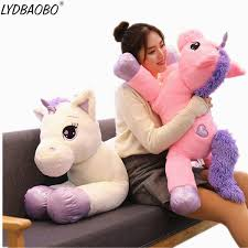 <b>1pc 60</b>-<b>110cm</b> Giant <b>Kawaii Unicorn</b> Plush Toys Soft Stuffed New ...