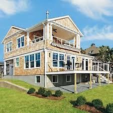 bright beach house view bright ideas deck