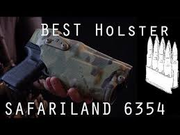 Best <b>Military</b> / Professional <b>Holster</b> SAFARILAND 6354 - YouTube
