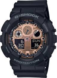<b>Мужские</b> наручные <b>часы Casio GA</b>-<b>100MMC</b>-<b>1AER</b> кварцевые