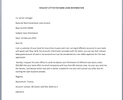 Bank Loan Request Letter Pdf   Cover Letter Templates Job