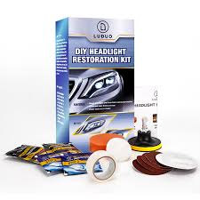 <b>LUDUO</b> DIY Headlight Polishing Restoration Kits Headlamp Clean ...