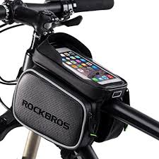 ROCKBROS <b>Bike</b> Frame <b>Bag</b> Waterproof <b>Bicycle</b> Front Top Tube ...
