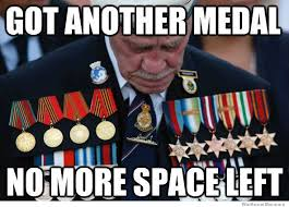 Decorated War General Problems – Meme | WeKnowMemes via Relatably.com