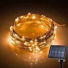 Hallomall <b>LED Solar Powered</b> String Lights, 2 Modes Steady on ...