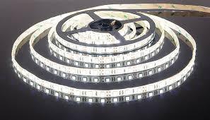 <b>Светодиодная лента 5050/60 LED</b> 14.4W IP65 белый свет 6500К