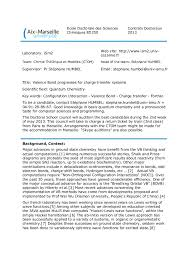 Researcher Cover Letter Examples Templates