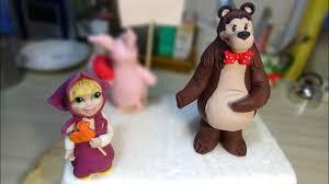 """<b>Фигурки</b> """"<b>Маша и Медведь</b>"""" / Figures """"Masha and the bear"""" - Я ..."""