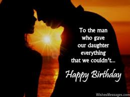 Birthday Wishes for Son-in-Law | WishesMessages.com via Relatably.com