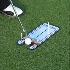 <b>Golf Putting Mirror</b> Alignment <b>Training</b> Aid Swing Trainer Eye Line ...