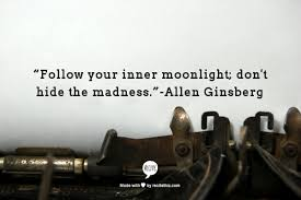 Friday Writing Inspiration: Allen Ginsberg, Writing in SF and the ... via Relatably.com