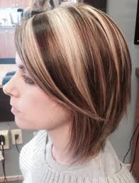 Hair Style Highlights short hair bob haircut highlights lowlights bright blonde dark 2978 by wearticles.com