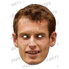 Andrew Murray Celebrity Mask. code:AMURR01. Offers Available; Free UK Delivery when you spend £30.00 - 1351682988-40703000