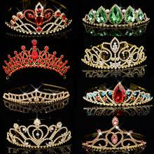 Gold and Green Tiara Promotion-Shop for Promotional Gold and ...