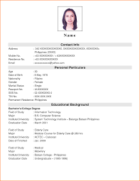 simple resume format sample for job sample customer service resume simple resume format sample for job the resume builder information technology resumes pdf