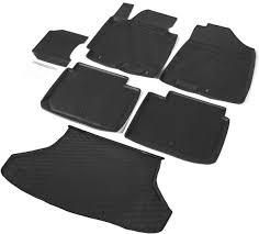 <b>Комплект ковриков салона и</b> багажника Rival для Kia Cerato III ...