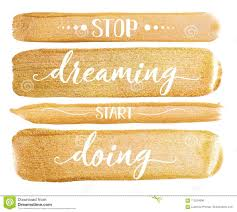 Golden Watercolor Stroke On White. Bright Luxury Quote <b>Stop</b> ...