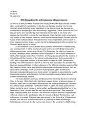 world war  essay topics causes of world war  essay essay prompts and sample student essays world war  essays