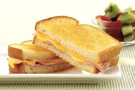 Grilled Ham and Cheese Sandwich - My Food and Family