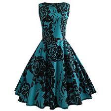 MRULIC <b>Spring Women Vintage</b> Elegant Printing <b>Bodycon</b> ...