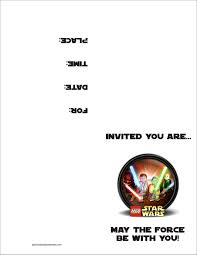 star wars birthday invitation template hollowwoodmusic com star wars birthday invitation template as well as having up to date birthday winsome invitation templates printable 9
