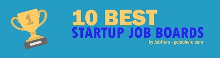 best startup job boards infographic com