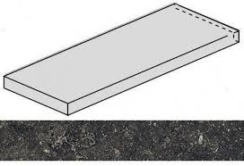 <b>Ступень угловая Italon Room</b> Black Stone левая 620070001238 ...