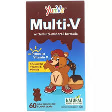 Yum-Vs Children's Multivitamin <b>Multi V Multi-Mineral</b> Formula