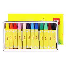 moca <b>Deli 72079 Oil Pastel</b> Crayon for Children 12PCS | Shopee ...