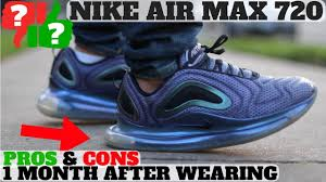1 MONTH AFTER WEARING: <b>NIKE AIR MAX 720</b> WORTH BUYING ...