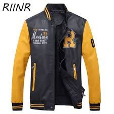autumn winter brand <b>mens leather jacket</b> Wintemotorcycle Leisure ...