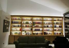 inspired led bookcase lighting modern living room bookcase lighting ideas