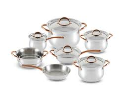 Купить набор посуды <b>ABSOLUTE</b> 1515 <b>GIPFEL</b> из 13 пр. (ковш ...