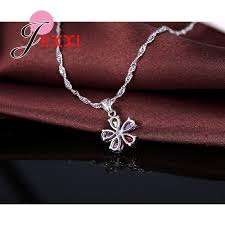 <b>New</b> Arrival Woman Jewelry <b>Set 925</b> Sterling Silver Necklace ...